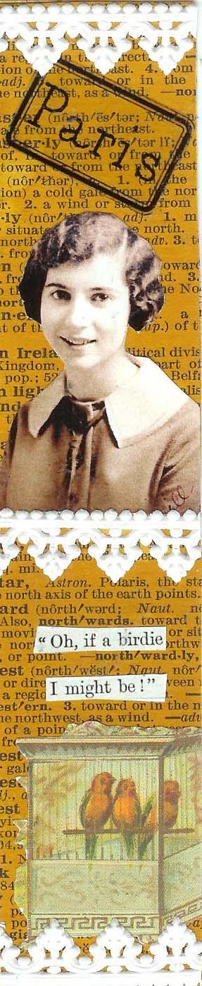Birdie Paris Bookmark