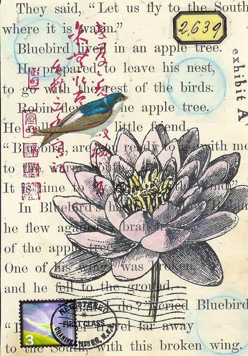 SundayPostcardArt - Botanica