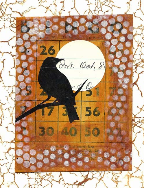 Blackbird Thank You Card