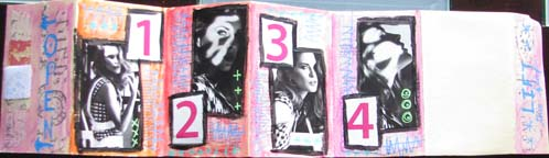 Accordion Book Back