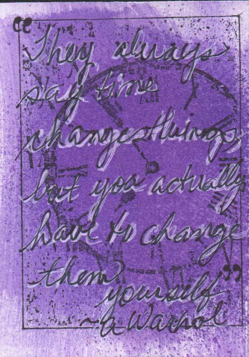 Lavender Quotation