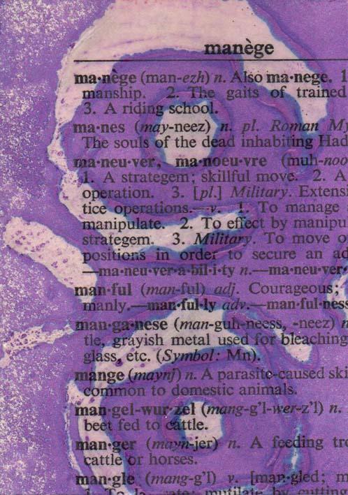 Violet batik