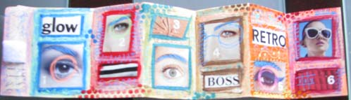 Accordion Book Front
